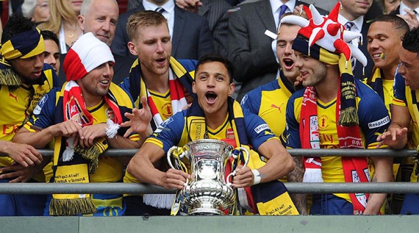 Arsenal gana con trampa la FA CUP